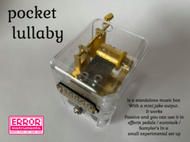 Pocket lullaby
