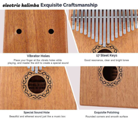 electric Kalimba eurorack mono jack out