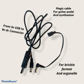 magic power cable guitar set