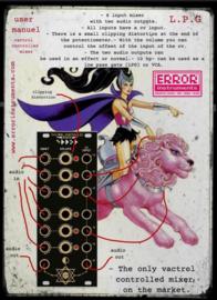 Vactrol control mixer