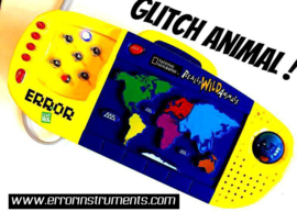 glitch animal   circuitbent toy