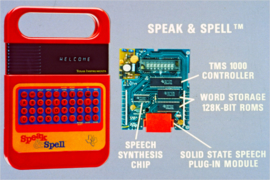 Circuit Bent Speak & and Spell RARE ! italy
