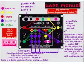 RADIO SPUTNIK XP   brickie format