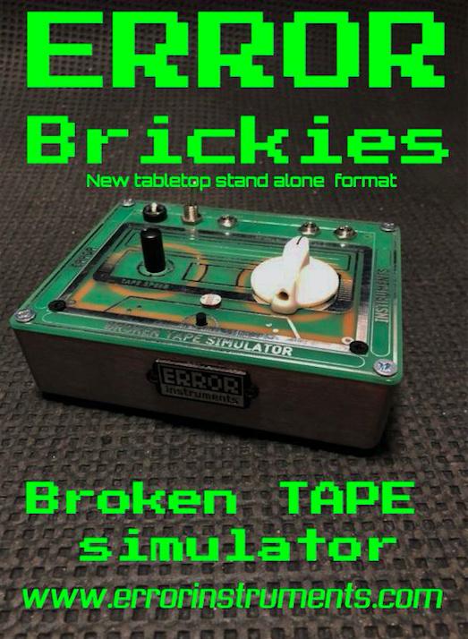Broken TAPE  simulator . costum whit retro