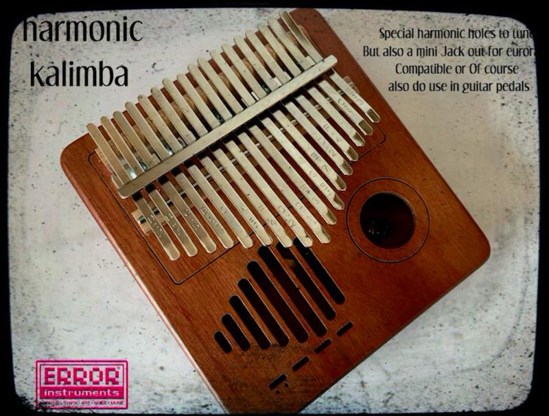 harmonic  kalimba eurorack