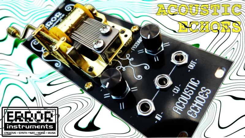 Acoustic Echoes     . piano Noir