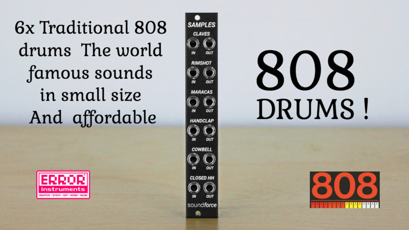 808 DRUMS sampels