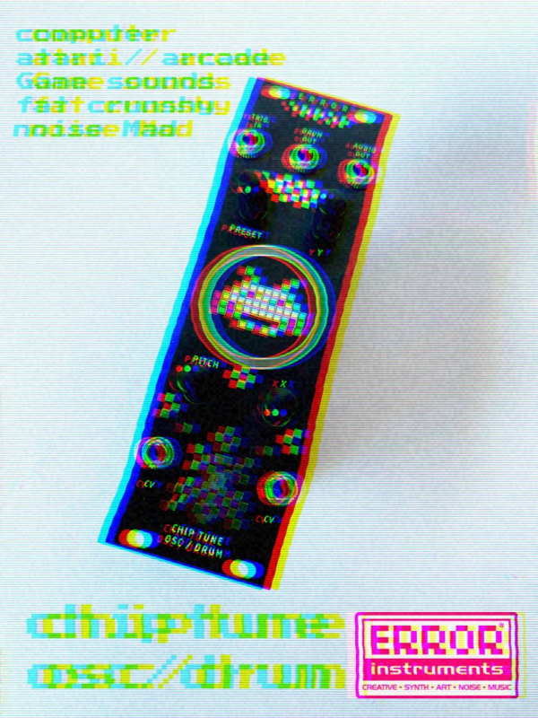 chiptune oscillator / drume.