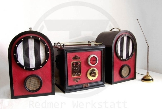 Victorian / Steampunk stereo system