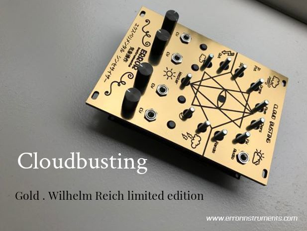 cloudbusting  GOLD  limited edition