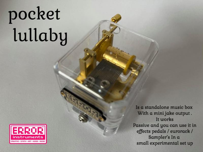 Pocket lullaby