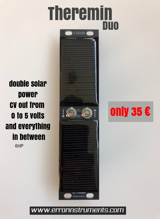 Theremin DUO solar