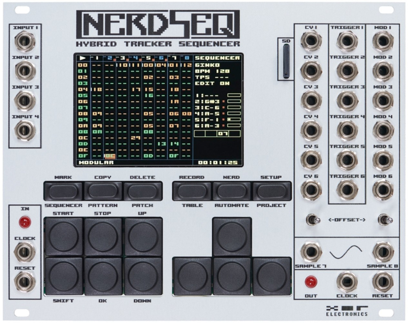XOR Electronics - Nerdseq (Silver)