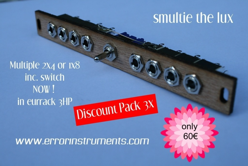 Discount Pack 3x smultie the lux .Multiple
