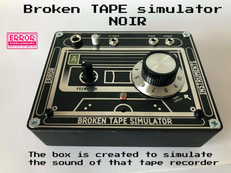 Broken tape simulator  .nior