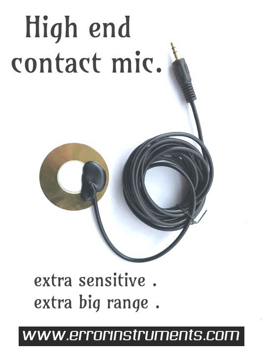 high end contact mic