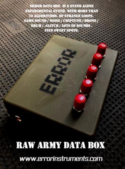 RAW ARMY DATA BOX