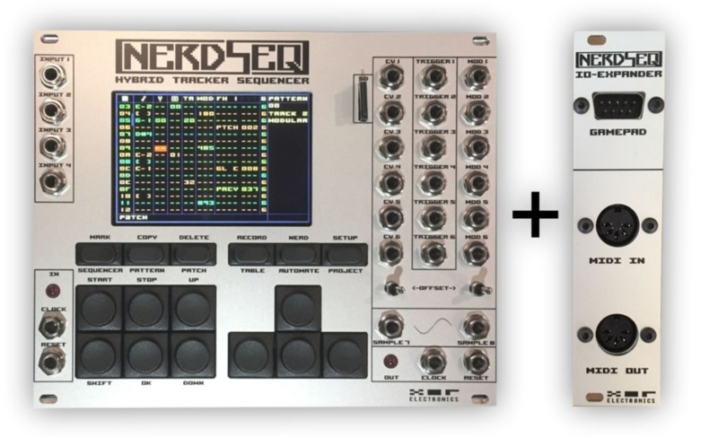 NERDSEQ + IO-EXPANDER BUNDLE GREY
