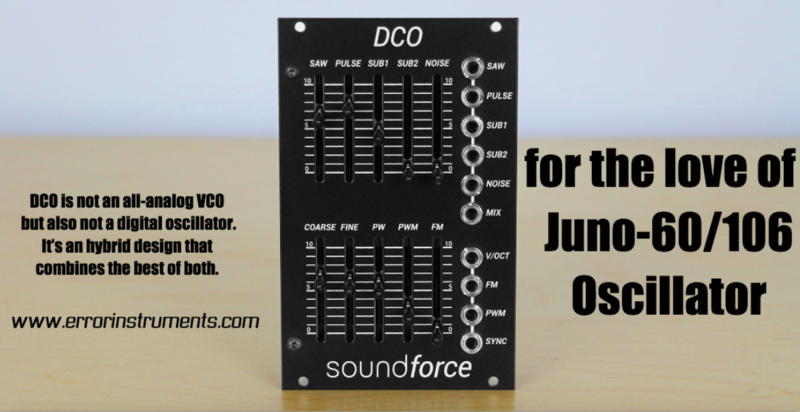 The SoundForce DCO