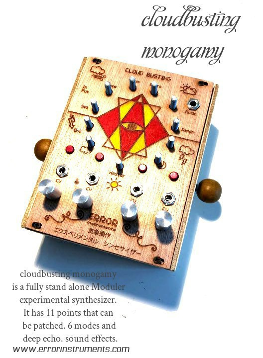 cloudbusting monogamy | NEW ! SYNTHE NOISE ! instruments FOR