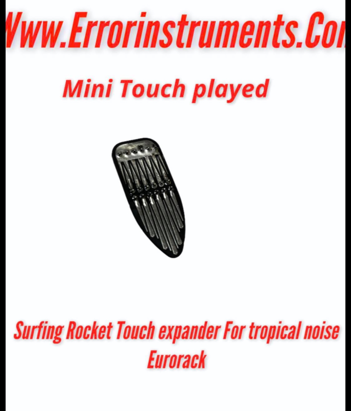 Surf 🏄♀️ Racket Touch interface