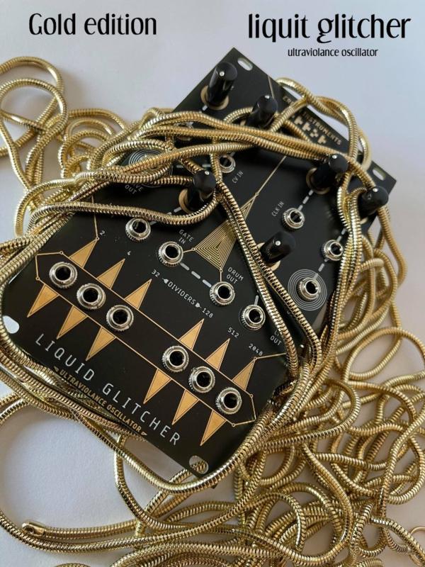 LIQUID GLITCHER .the only ultraviolance oscillator  gold  edition