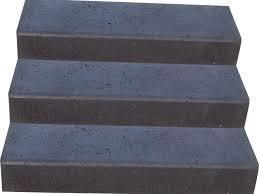 Traptreden | Massief Oud Hollands | 15x30x50 cm Grijs of Zwart
