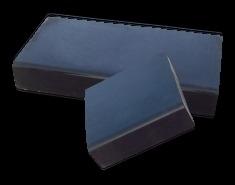 Traptreden | Holblok | 15x50x50 cm zwart