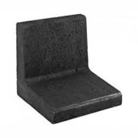 L-element | Zwart | 50x30x40 cm |