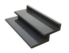 Traptreden | Bastrede L-element | 15x42x120 cm Zwart