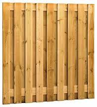 Tuinscherm 21 planks recht | Groen geïmpregneerd | 180x180 cm