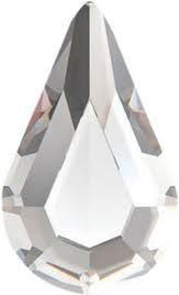Swarovski® - S-2300 - 6 stuks Drop Crystal 8,0 * 4,8 mm