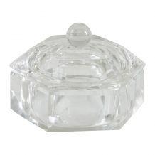 Glazen dappendish Diamond - Small