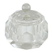 Glazen dappendish Diamond - Medium