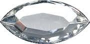 Swarovski® - S-2200 - 6 stuks Navette Crystal 8,0 * 4,0 mm