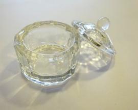 Glazen dappendish Crystal - Small