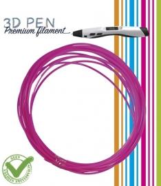 3D Pen filament PLA - 5M - fluor roze