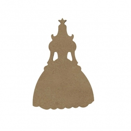 Prinses 6 mm dik, 15 cm