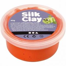 Silk Clay oranje 40 gram