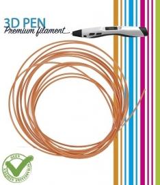 3D Pen filament PLA - 5M - zalm