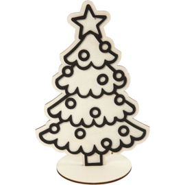 Kerstboom om te decoreren
