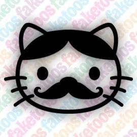 Hello Kitty - Mustache