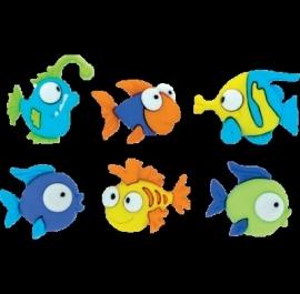 Vissen 6 stuks