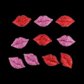 Lippen glitter 10 stuks