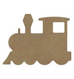 Locomotief 6 mm dik, 15 cm