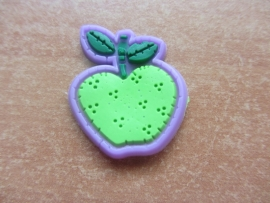 Appel groen/paars per stuk