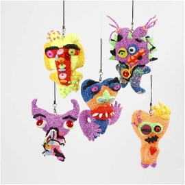 Ugly monster bekleden met foam clay