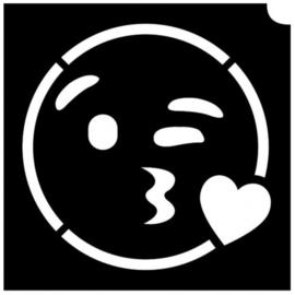 Emoij kissing heart