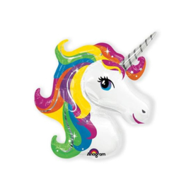 Folieballon Rainbow Unicorn SuperShape