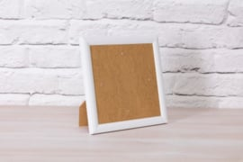 Crystal Art frame 18x18cm wit